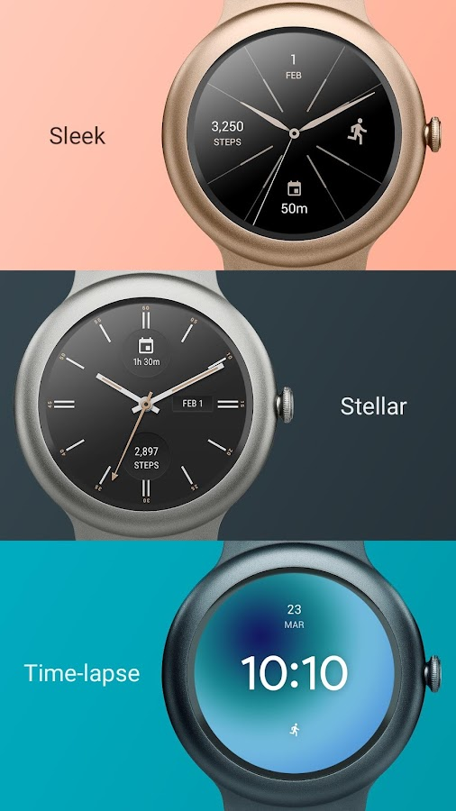 Looks Android Wear Watch Faces- screenshot