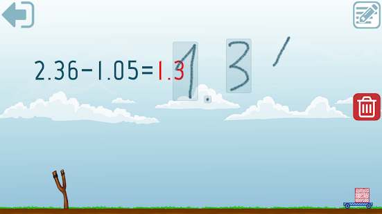 Decimals - Fifth grade Math skills Screenshot