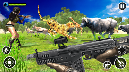 Code Triche Animal Safari Hunter APK MOD screenshots 5