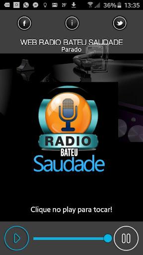 Web Rádio Bateu Saudade