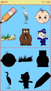 Match The Picture Shadow: Kids Matching Game 2.2