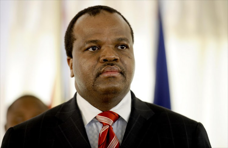 Swaziland King Mswati III. File photo.