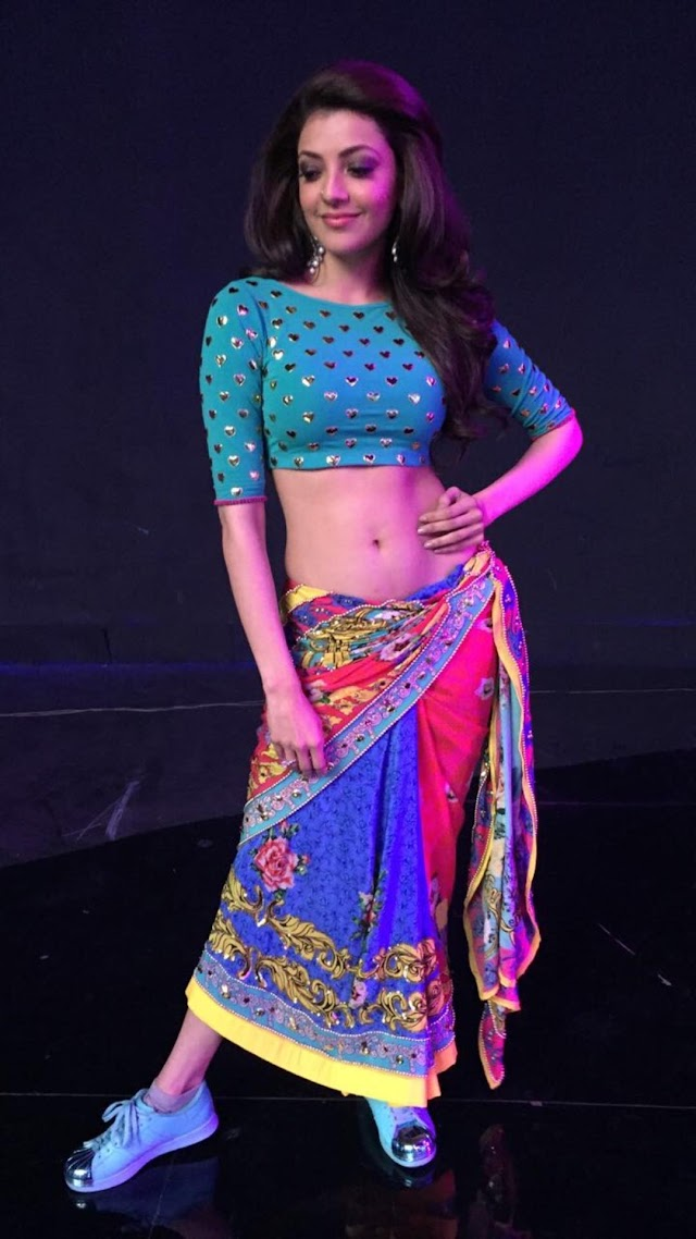 Kajal Aggarwal hot navel latest