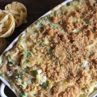 Easy Creamy Tuna Noodle Casserole.