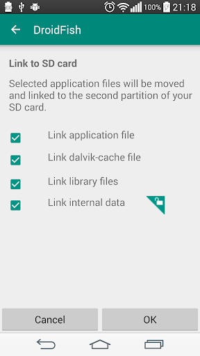 Screenshot for Link2SD Plus (New) in Hong Kong Play Store