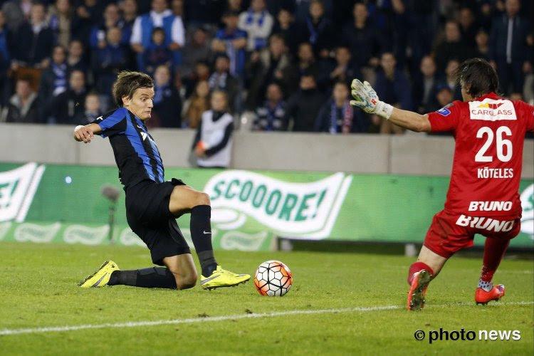 Bruges a déboursé 3,3 millions pour Vossen