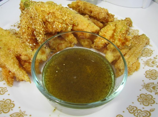 Fried Squash Blossoms With Mint Jelly! Recipe