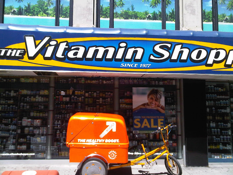 Photo: It's a beautiful day for BOOSTING and biking! — at Vitamin Shoppe.