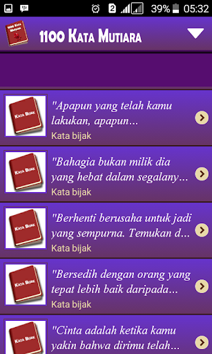 1100 Kata Mutiara 1.7.8 screenshots 4