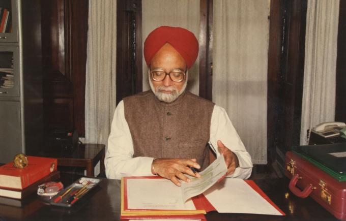 Manmohan Singh at the centre of the storm