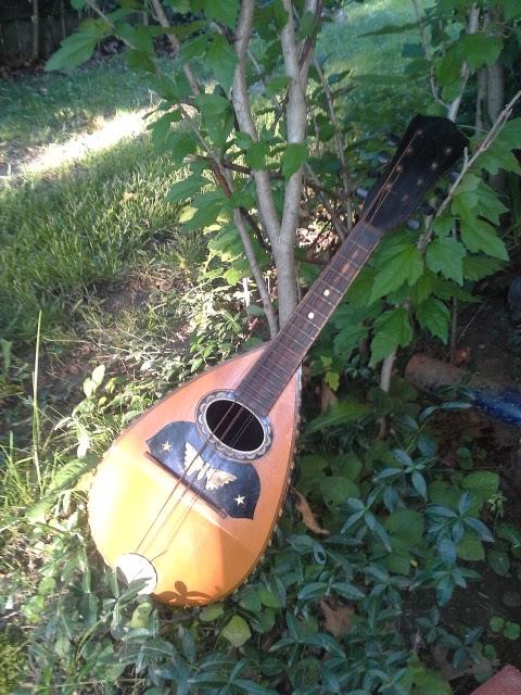 great grandfather's mandolin