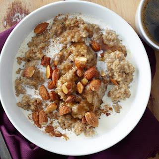 Masala Chai-Spiced Oatmeal