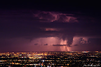 Photo: Just captured a little bit ago tonight ...what a storm!
