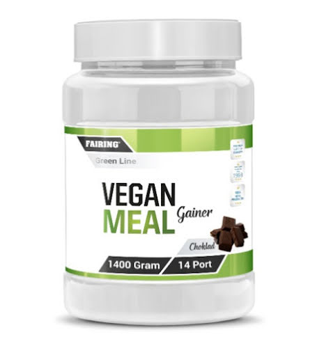 Fairing Vegan Meal Gainer 1400g - Choklad