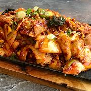 Spicy Stirfried Pork Belly (Jeyyuk Bokkeum)