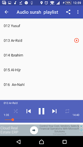 Sudais Full Quran Mp3 Offline screenshots 2