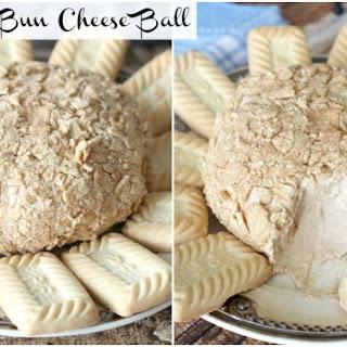 Cinnamon Bun Cheese Ball