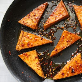 Honey Glazed Tofu