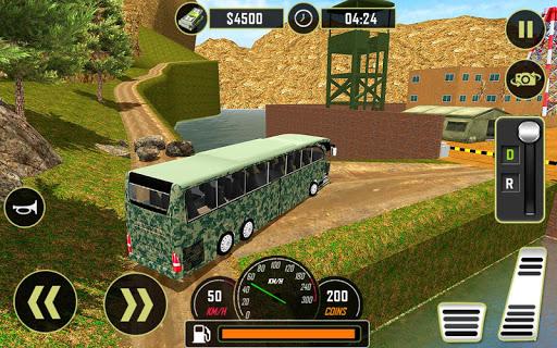Army Bus Driver 2020: Real Military Bus Simulator apktram screenshots 11