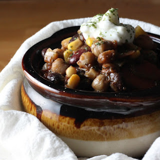 Whiskey Three-Bean Chili