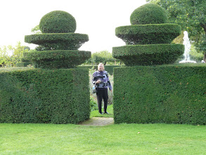 Photo: Hatfield House - formal gardens.