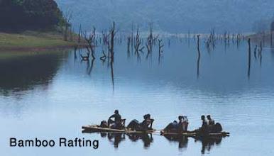 Photo: Bamboo Rafting
