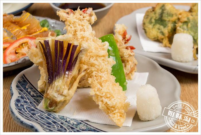 大手町日本料理無菜單料理炸蝦天婦羅