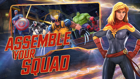 MARVEL Strike Force v3 APK (Mod Money) Data Obb Full