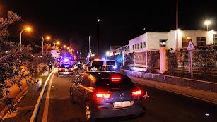 La Vía Parque acogió el control de la Policía Nacional.