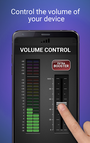 Volume Booster & Equalizer screenshot for Android