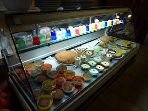 Photo: dessert stand