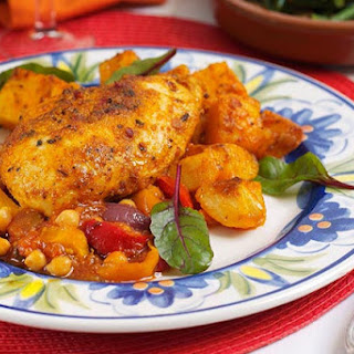 Tuscan Chicken with Tomato & Peppers