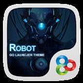 (FREE) Robot GOLauncher Theme