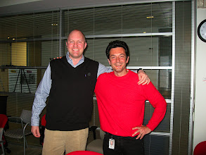 Photo: With Marc after 10 years