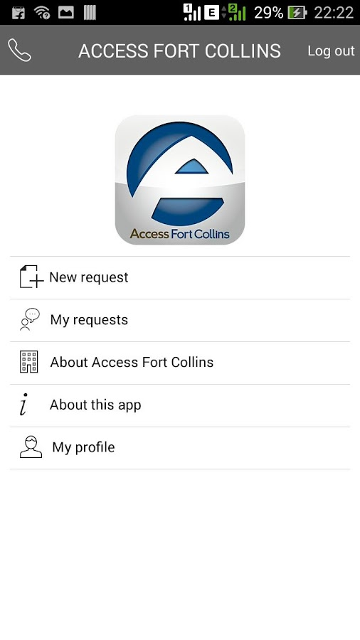 Access Fort Collins- screenshot