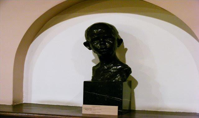 HEAD OF A BOY ZAMBACCIAN MUSEUM BUCHAREST