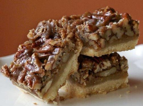 Yummy Chewy Pecan Bars Recipe