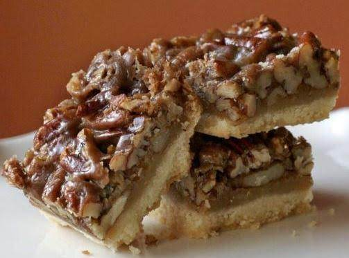 Yummy Chewy Pecan Bars Recipe