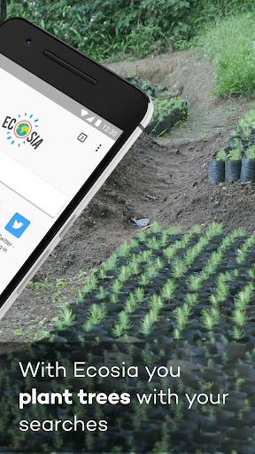 Ecosia screenshot 2