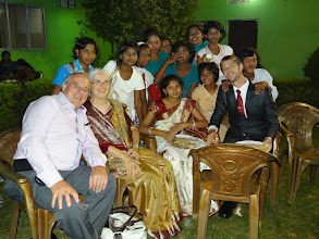 Photo: More special times at the reception at Cuttack.