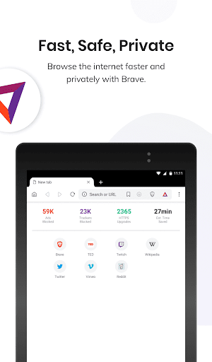 Brave Private Browser: Fast, safe web browser 1.12.113 Screenshots 11