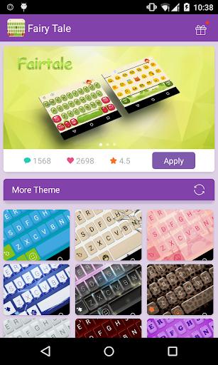 Emoji Keyboard-Fairy Tale
