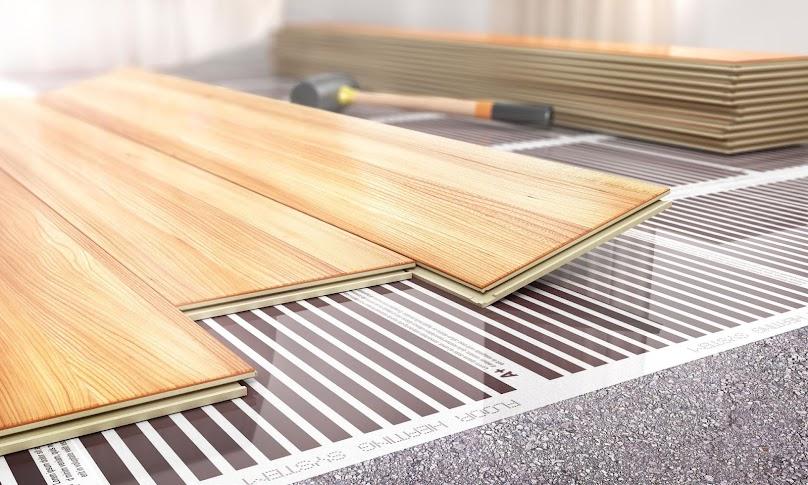 Ogrzewanie domu, sposób rozprowadzania ciepła i inne zmiany w projektach gotowych.
