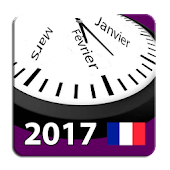 Calendrier 2017 France