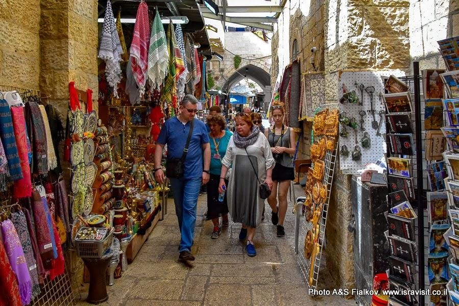 Старый город Иерусалим. Мусульманский квартал. Индивидуальная экскурсия по Иерусалиму с частным гидом.