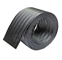 Rem/ bältesband Grå (Polyester) 50mm