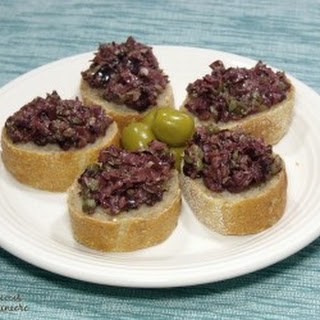 Languedoc Style Olive Tapenade