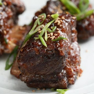 Roasted Short Ribs with Red Miso Glaze and Hibachi-Style Fried Rice Recipe