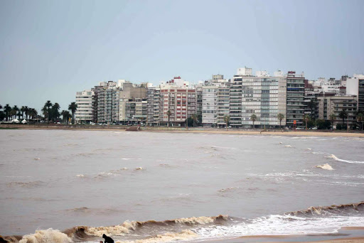 montevideo on waterfront.jpg - The waterfront of Montevideo, capital of Uruguay.