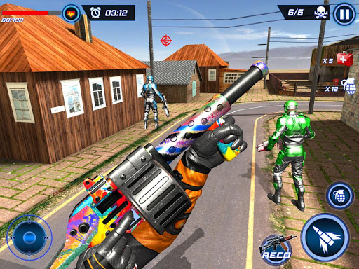FPS Robot Shooter Strike: Anti-Terrorist Shooting apkpoly screenshots 23